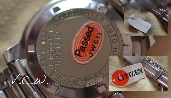 vintage NOS citizen  4-520068 T