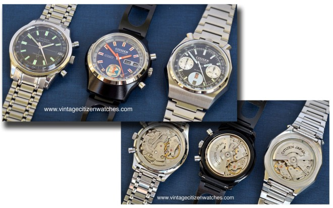 vintage citizen chronograps