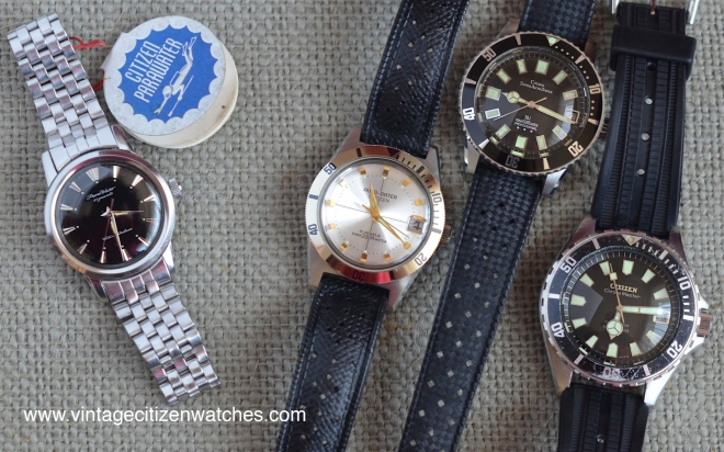vintage citizen divers