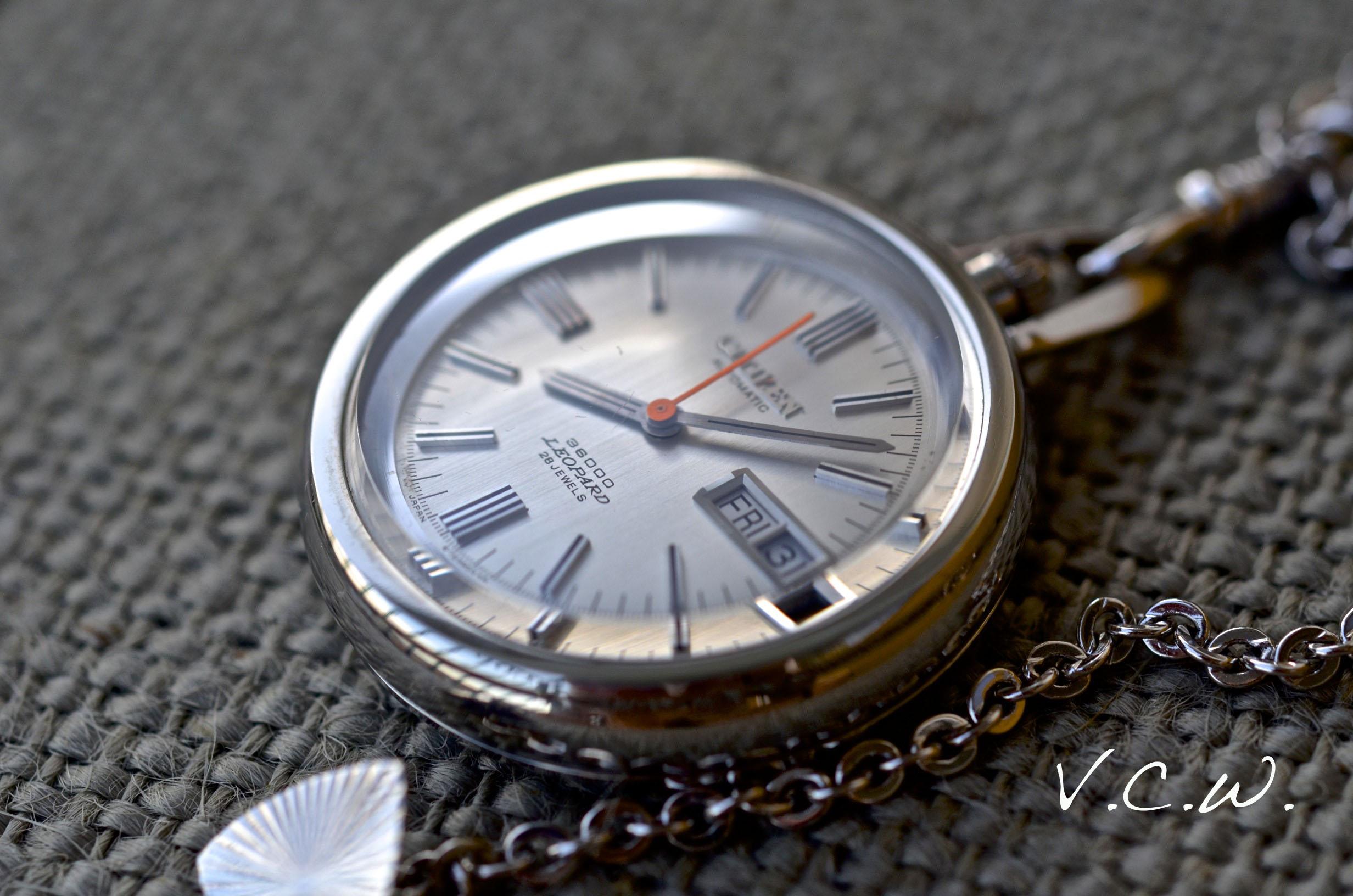 Citizen pocket watches