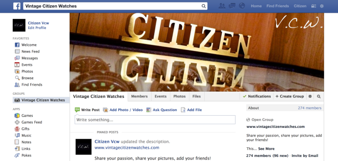 citizen facebook