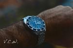 blue dial citizen diver 67-5776