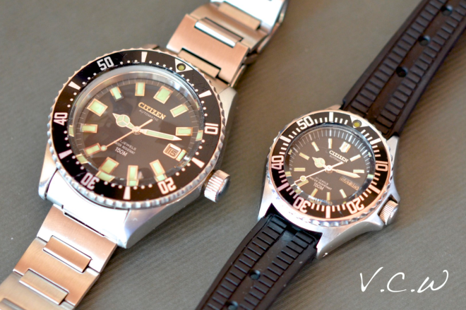vintage ladies Citizen diver