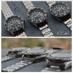 vintage citizen divers 150m 68-5372 , 62-6198, 52-0110