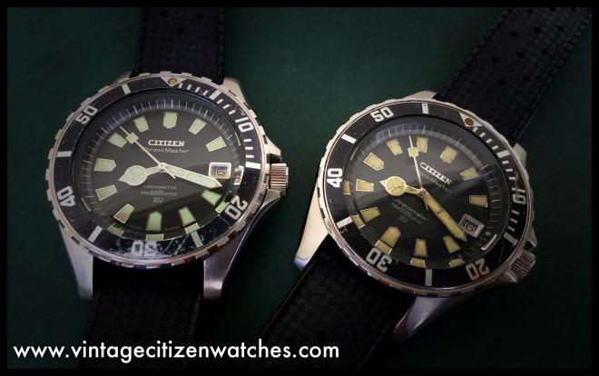 citizen 500m chrono master diver vintage