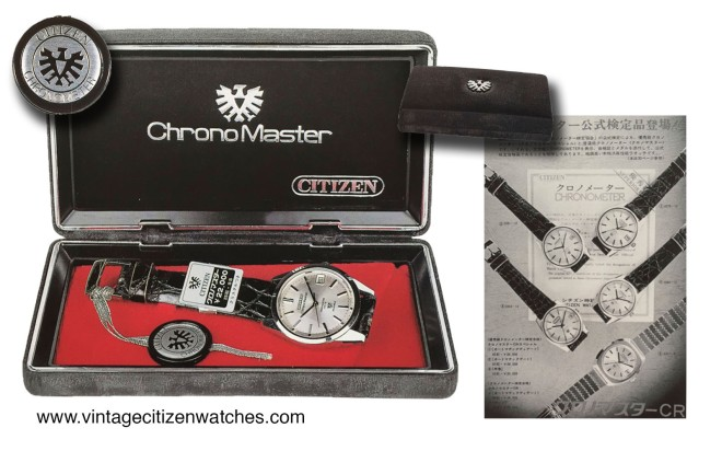 citizen chrono master