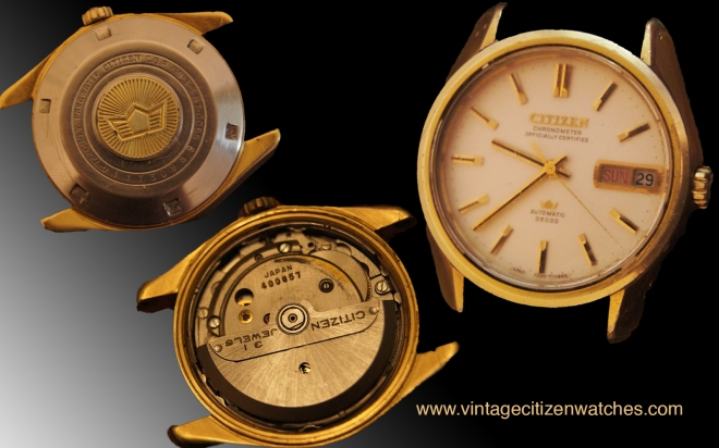 citizen chronometer officialy certified