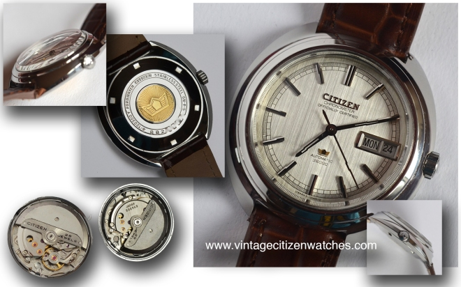 citizen chronometer officially certified 36000