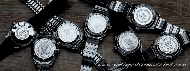 vintage citizen 150m divers