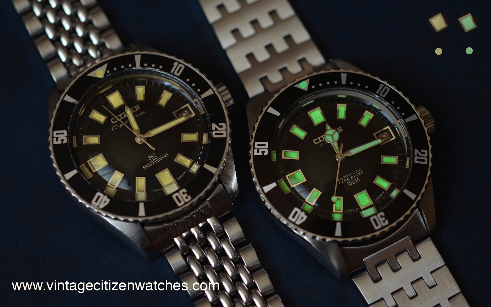 Vintage Citizen Watches Lume Patina – Vintage Citizen Watches