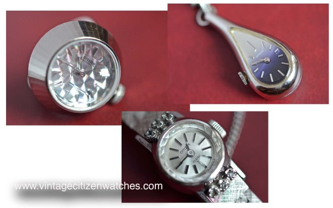 citizen ring watch pendant watch bracelet watch