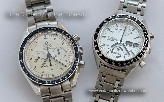 omega speedmaster citizen speedy