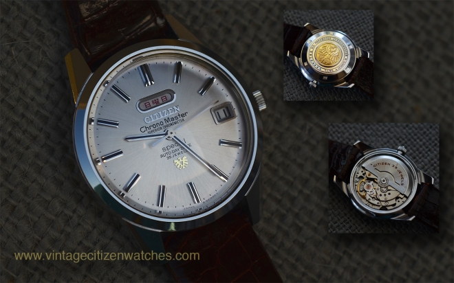citizen chronomaster superior chronometer special