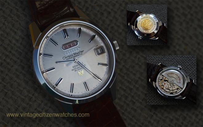 citizen chronomaster superior chronometer special